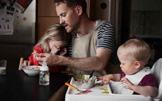 Eşinizin daha çok iyi bir baba mı olmasını istersin yoksa iyi bir koca mı?