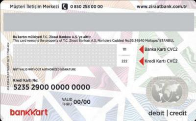 Genc bank kart bilgileri nerede yazar? - KizlarSoruyor