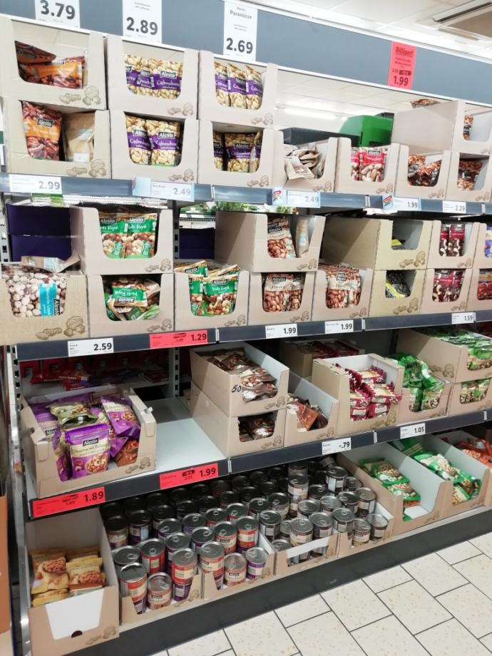 Almanya' da market fiyatları: içkiler, çikolatalar, aburcubur, şampuan?