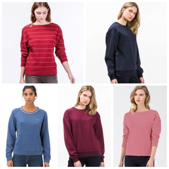 Hangi sweatshirt daha güzel duruyor?