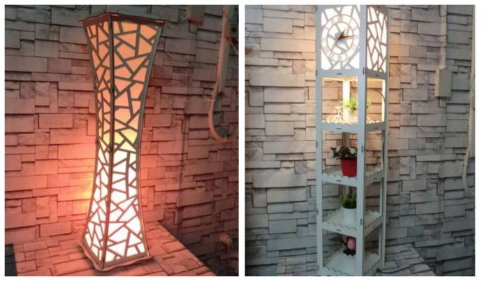 Bu lambaderlerden hangisi evi daha modern bir havada gösterir?