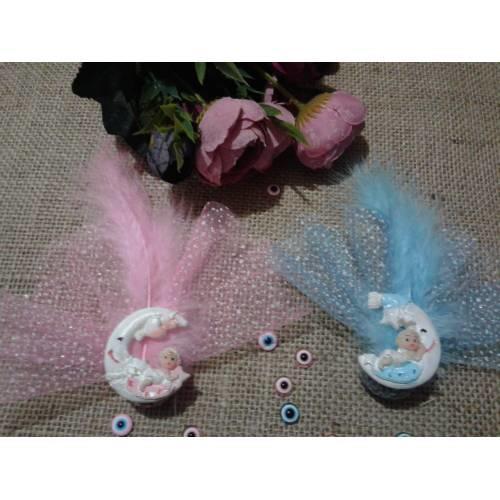 Bu bebek şekerlerinden hangisi bebek ziyaretine gelen misafirlere anı olarak dağıtmak için güzel?