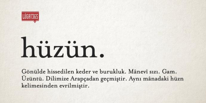 Türkçe'nin en hüzünlü kelimesi sizce hangisi?