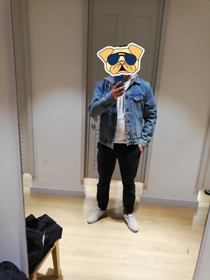 Bu jeans ceket nasıl, iyi durmuş bende?