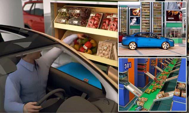 Alışverişinizi arabanızdan inmeden yapmak ister miydiniz?