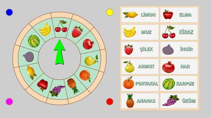 En sevdiğiniz meyve hangisi?