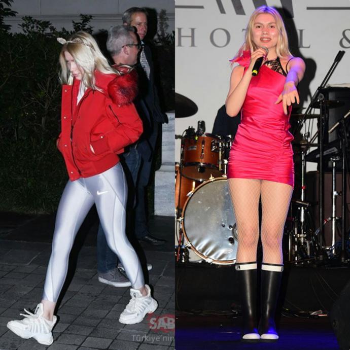 Serenay Sarıkaya mı daha uzun,Aleyna Tilki mi?