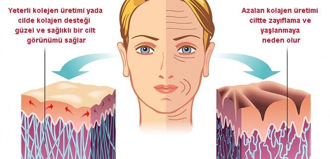 kolajenin cilde faydaları saymakla bitmiyor