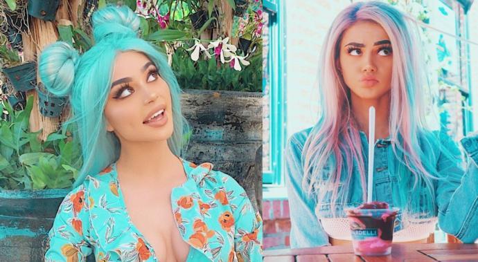 Renkli saçlar, renkli bir karakterin dışa vurumudur diyebilir miyiz?