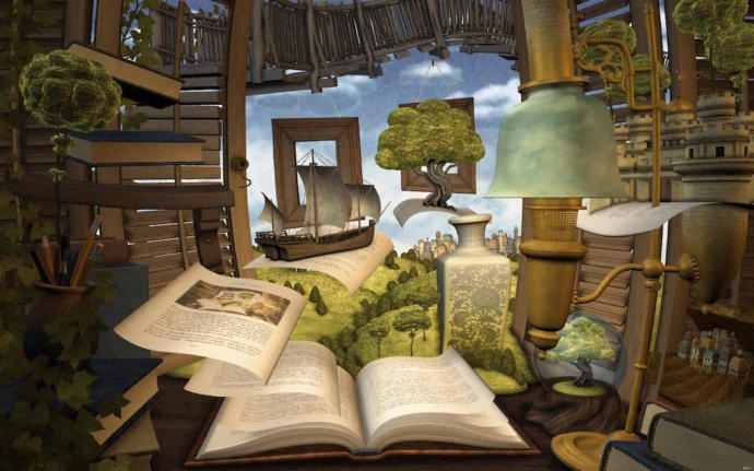 Kitaplardan bir dünya yaratsaydınız, girişte ne yazmasını isterdiniz?