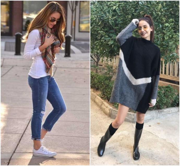Zayıf bir kıza dar kıyafetler mi daha çok yakışıyor, yoksa salaş kıyafetler mi?