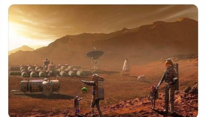 Koloni kurmak amaçlı Mars'a gidecek ekipte 1 Türk olduğu iddia ediliyor. O 1 kişi sen olsan ilk ne yapardın?