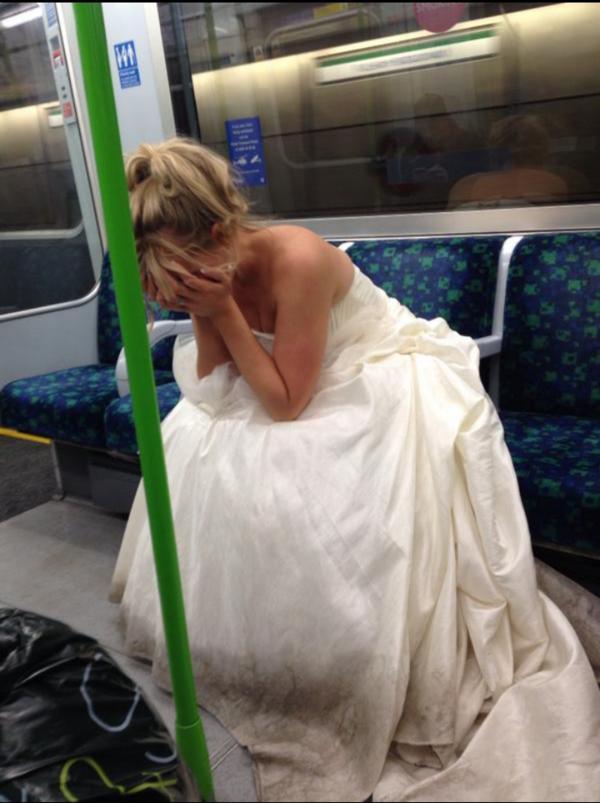 Düğününüzde terk edilseniz ne yaparsınız?