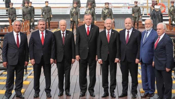 Parti lideri olsanız, Cumhurbaşkanı Erdoğan'ın 19 Mayıs tören davetine icabet eder misiniz?