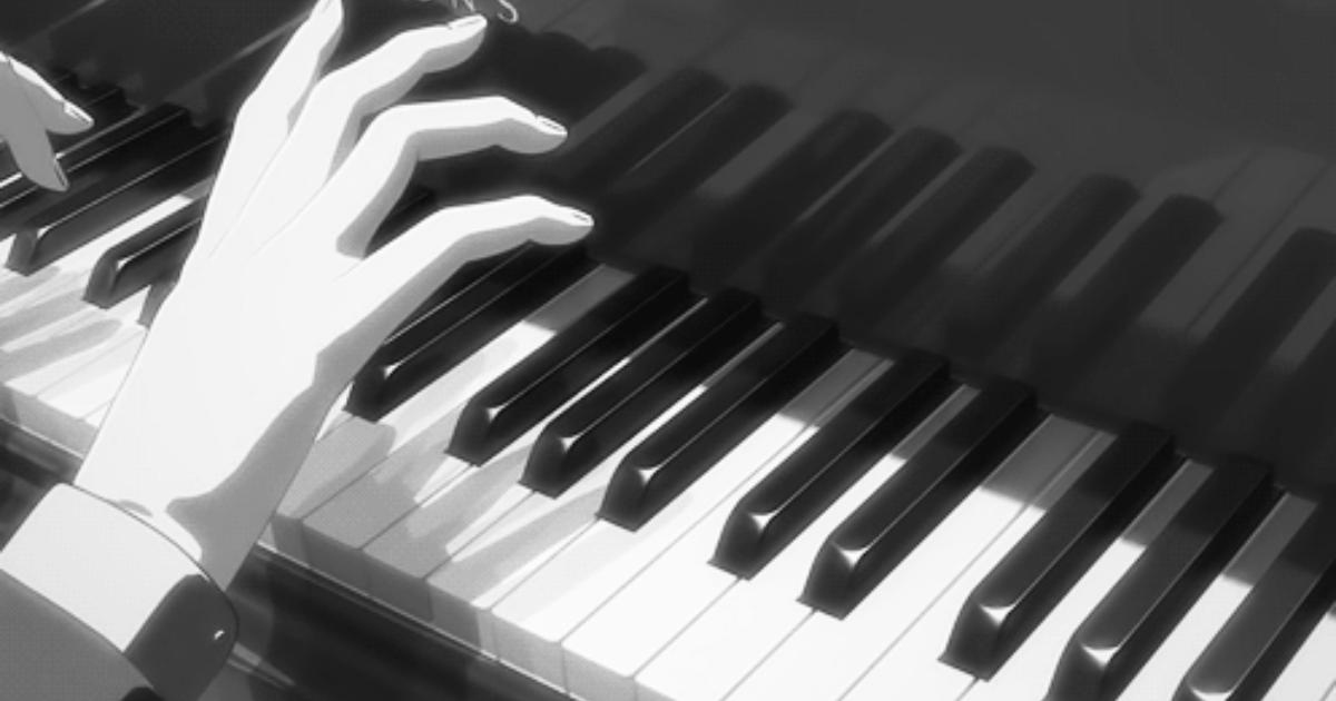 Гифка игры на пианино, бездей открытки