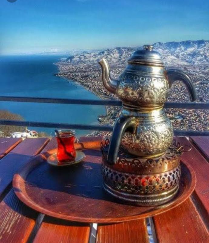 Kahvemi çay mı?
