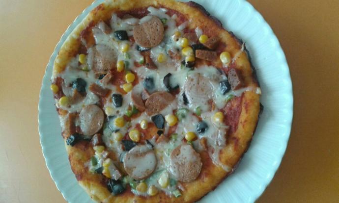 Ev yapımı pizza sever misiniz?