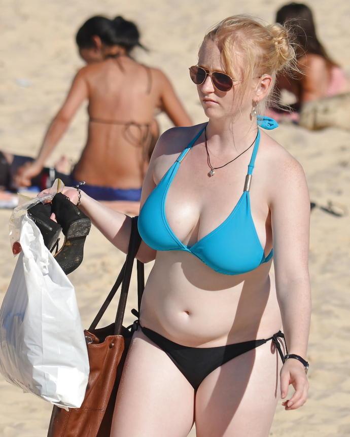 Jeff gordons wife in a bikini — 14