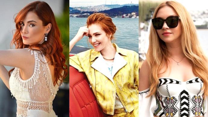 Bakır tonları imzası haline getirmiş bu ünlü kadınlardan hangisi güzellik idolünüz olabilir?