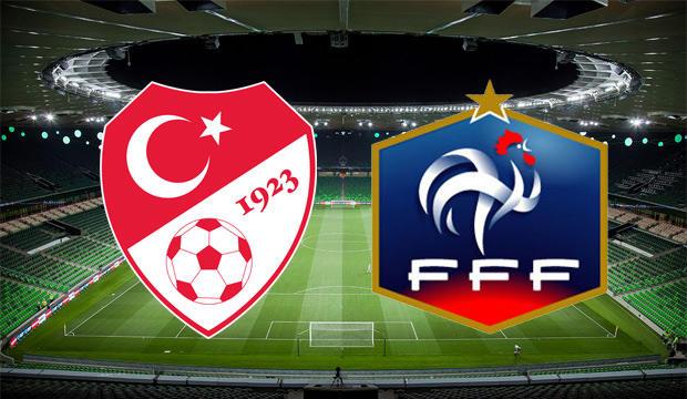 Türkiye - Fransa (21.45 - TRT1)