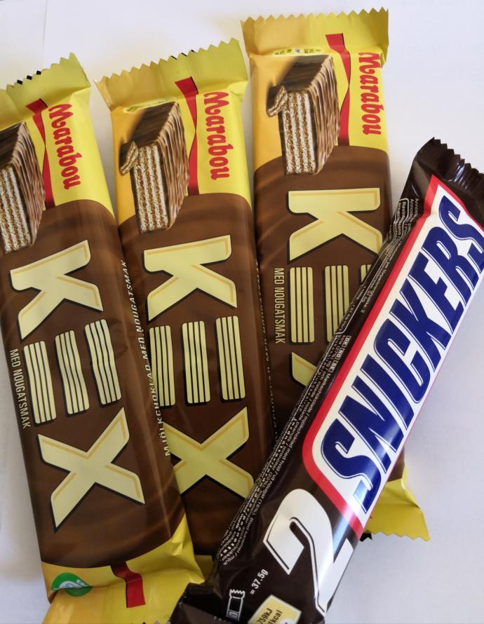 Bir oturuşta kaç paket çikolata yersiniz?