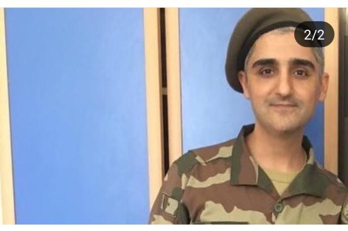 Manuş baba askere gitmiş üniforma yakışmış mı?