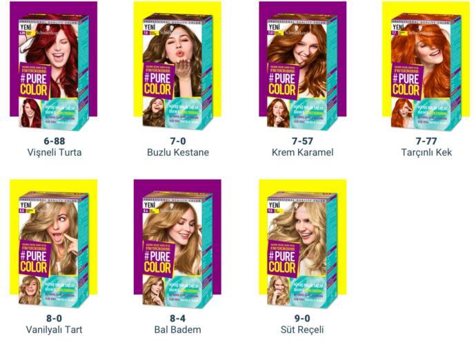 Yumuşak ve müthiş parlak saçlar! 15 tatlı renkten #SaçınınTercihi hangisi?