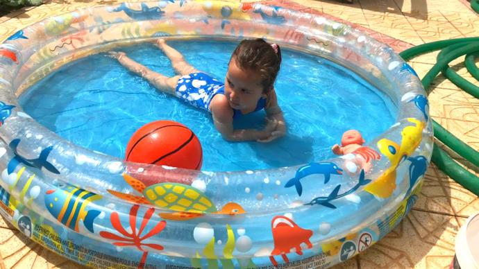 Ev Tipi Çocuk Şişme Havuz
