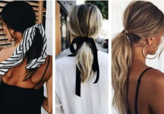 Yapımı çok basit olup aynı zamanda da şık olan saç modeli nedir sence?