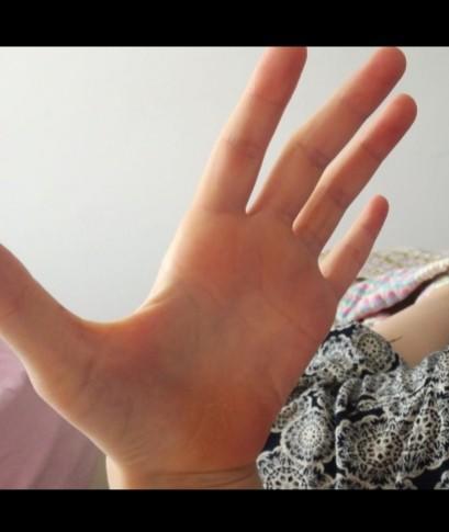 Ellerim çok mu küçük acaba?