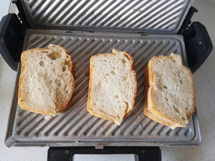 Sence bu tost neyli tost? 2 tane şey var içinde?