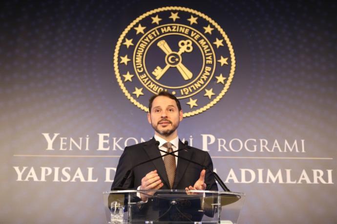 Ekonomiden sorumlu Bakan 'Berat Albayrak' sizce başarılı mı?