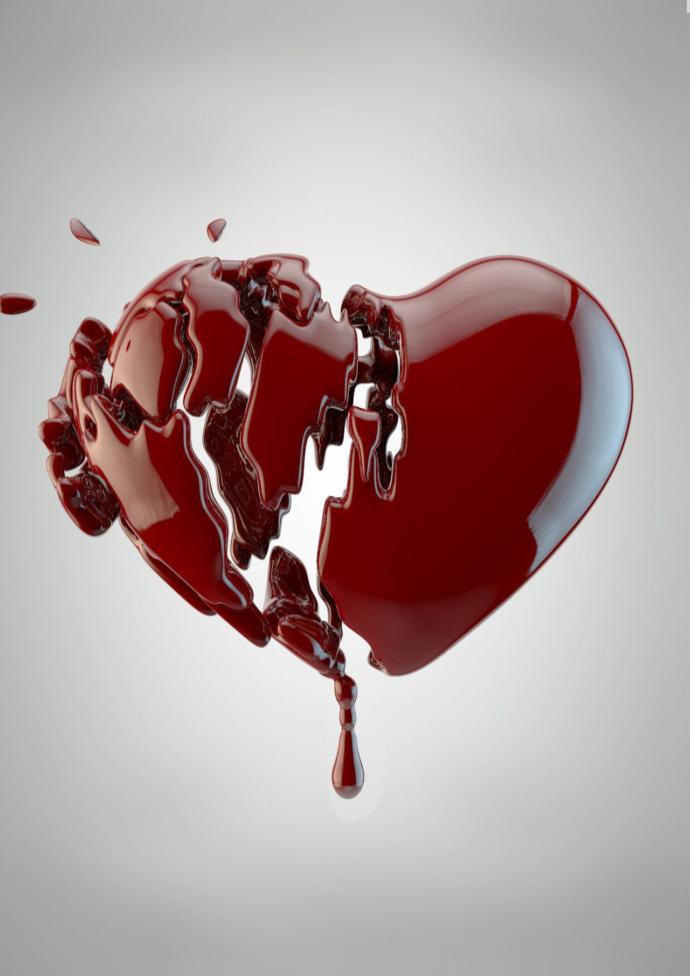 Открытки разбитая любовь