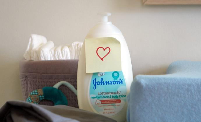 Johnson's Baby cotton touch