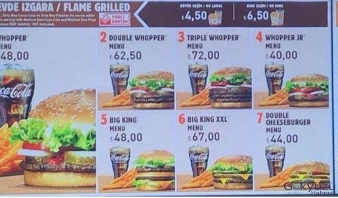 İstanbul Havalimanı (Burger King) fiyatları hakkında ne düşünüyorsunuz?