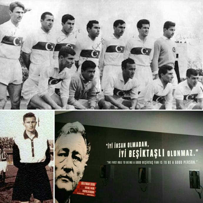 İnönü'deki ilk golü atan Süleyman Seba;