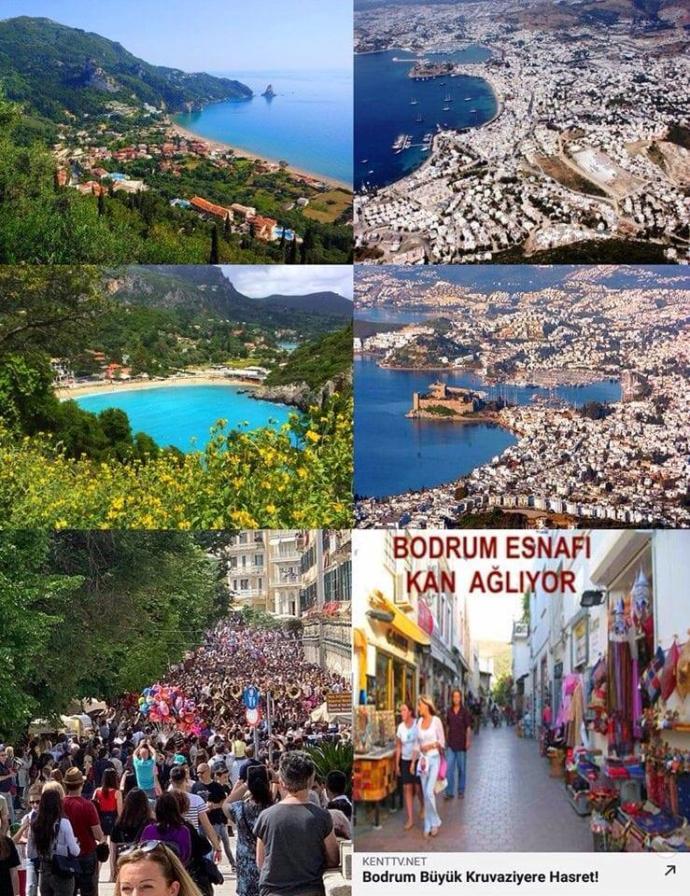 Corfu Adası ile Bodrum'un kıyaslanması hakkında ne düşünüyorsunuz?