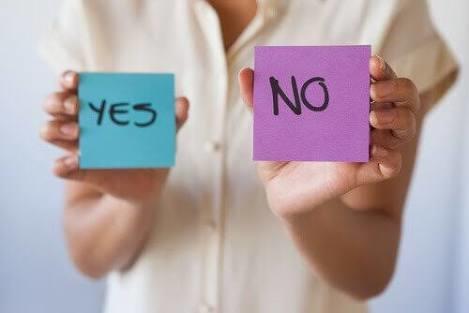 Asla hayır diyemeyeceğin şey ne?
