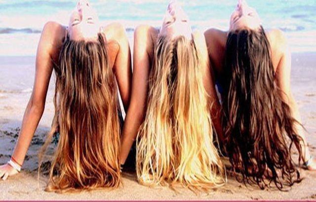 Saçların kendi rengi mi?