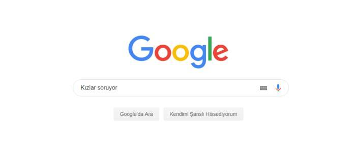 Google'da tahminen en çok neyi aratıyorsunuz?