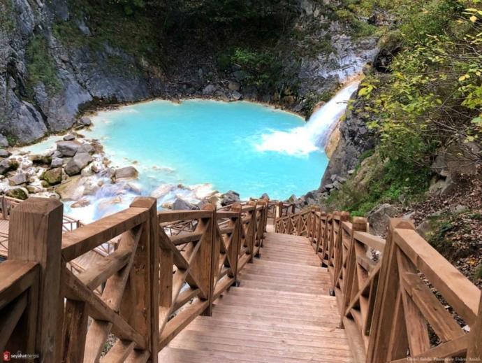 Giresun Mavi Göl ve Kuzalan Şelalesini gördünüz mü?