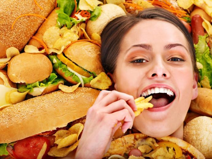 fast food yemek