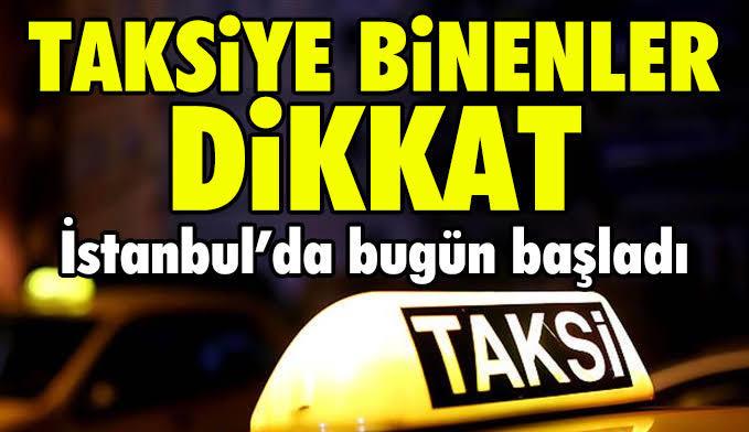Taksilerde indi bindi parası vatandaşa mı bindi?
