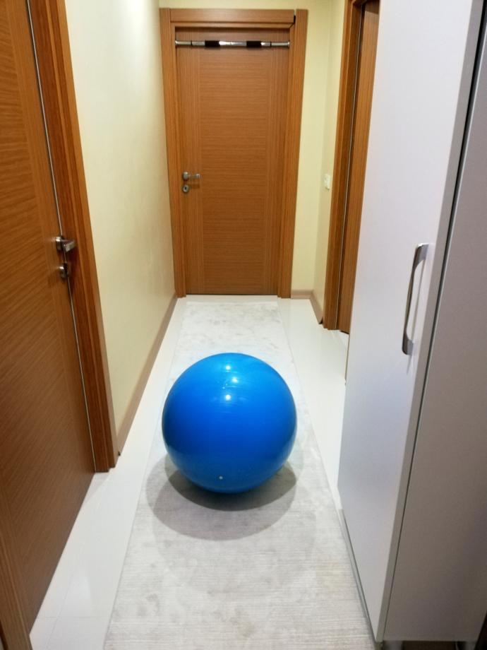 Evinizde pilates topu var mı?