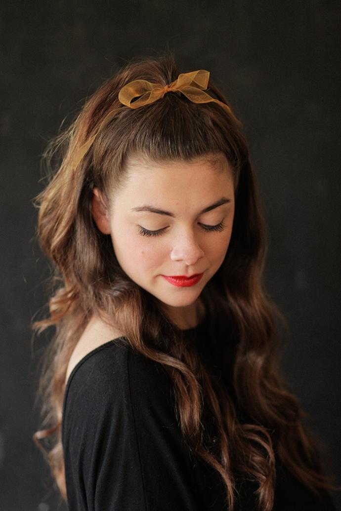 Evde yapılabilecek en kolay ve şık saç modeli nedir?