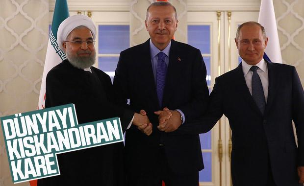 Putin ve Ruhani Ankara'da Erdoğan ile görüştü! Dünya bizi kıskanıyor mu?