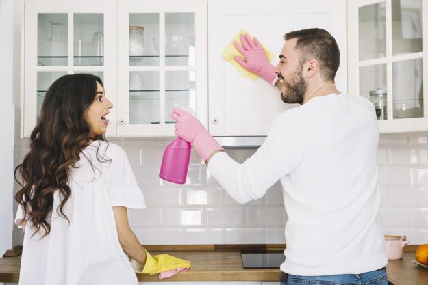 Evinizin yeni/eski olması temizlik şevkinizi etkiler mi?