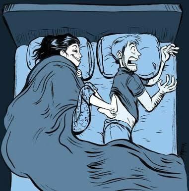 Sevgilinizin üşüyen ayaklarını ısıtır mısınız?