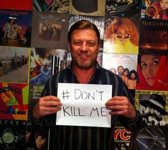 Öldürmeyin Sean abimizi