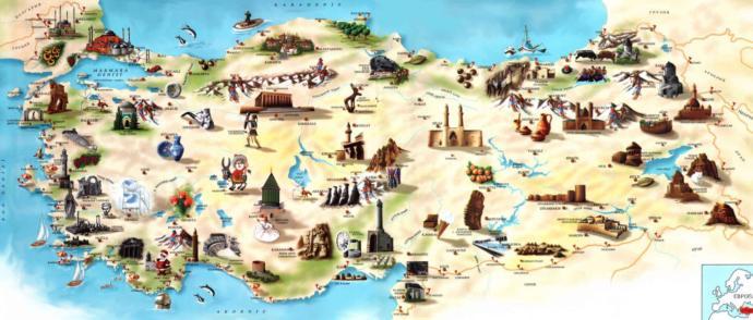 Türkiye turu yapacak olsanız rotanız nasıl olurdu?